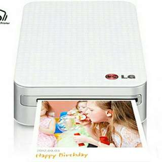 Lg Pocket Printer Brand New