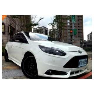 2013 福特 FOUCS 2.0 白 精品改 ST包