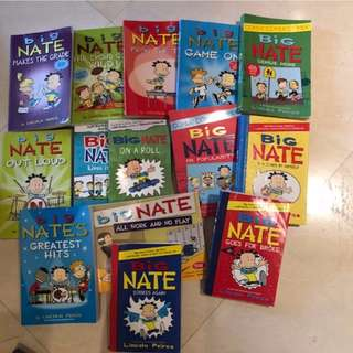 Big Nate set of 14 books