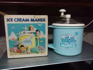 Ice Cream Maker From Japan