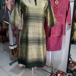 Dress bahan Thailand