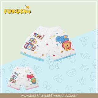 "1 ls celana pendek bayi seri ""Stack Fun Is Game"""
