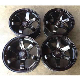 SPORT RIM 4X4 18inch TE37 BMW WHEELS