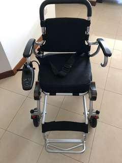 Electric Wheelchair (almost new)