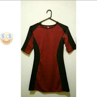 Open Barter / Sale Gap Mini Dress