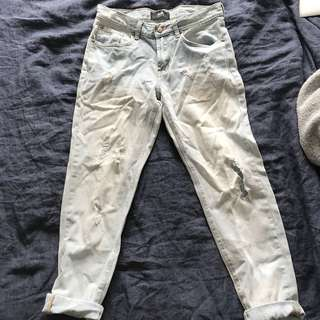 DOTTI boyfriend distressed jeans