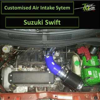 Customize Air Intake For Suzuki Swift . Air intake with maf kit . Labour Available.