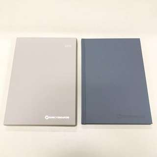 Bank of Singapore 2018 BYND ARTISAN diary - Grey
