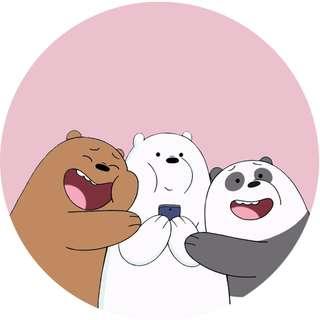 We Bare Bears Hug Popsocket