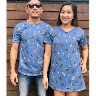 COUPLE (SHIRT AND DRESS)