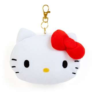 Japan Sanrio Hello Kitty Face Pass Case (Natsukashi Series)