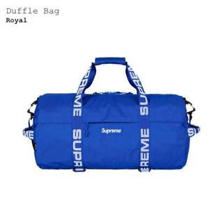 AUTHENTIC Supreme duffle bag