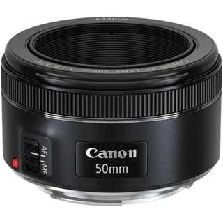 EF 50mm f/1.8 STM Lens. #1 Beller Seller Canon Lens Canon