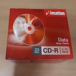 20 Imation CD-R Discs