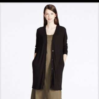 Uniqlo Women Ribbed Long Cardigan