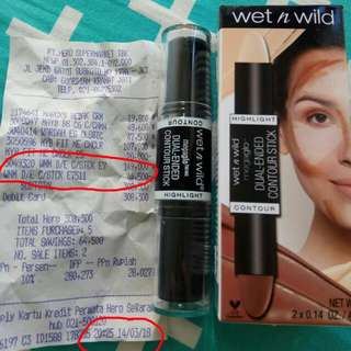 Wet n wild dual ended contour stick