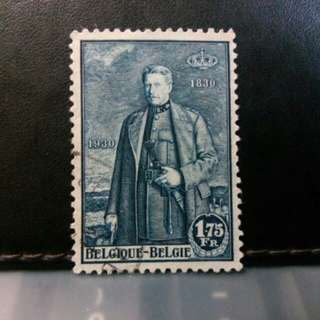 1930 Belgium stamp, King Albert I