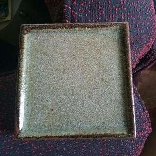 Stoneware mini plate