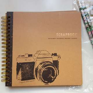 Brown Scrapbook