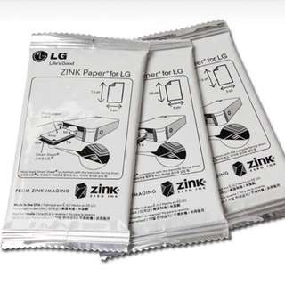LG Pocket Photo Paper POPO Zink for PD221 PD233 PD239 PD251 PD241 PD261 PD269