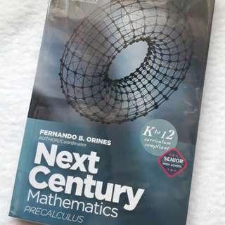 Next Century Mathematics PRECALCULUS (PHOENIX Pub)