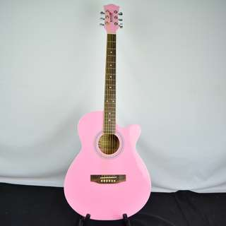 Hero 2F FK-980 粉紅色初階木吉他*現金收購 樂器買賣 二手樂器吉他 鼓 貝斯 電子琴 音箱 吉他收購
