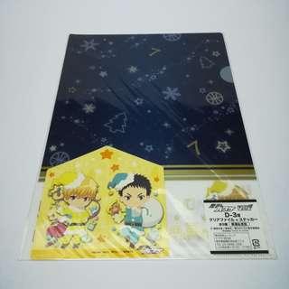 Kuroko no Basuke - Kise Ryouta / Kasamatsu Yukio Clear File Set