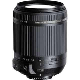 Tamron18-200mm f/3.5-6.3 Di II VC Lens for Nikon F
