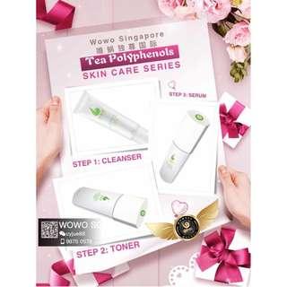 Wowo Tea Polyphenols Skin Care Series