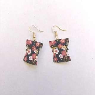 Japanese Origami Earrings