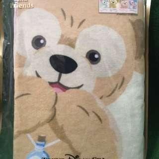 🚚 日本🇯🇵迪士尼園區  達菲系列毯子