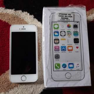 Iphone 5s 16gb silver, resmi TAM