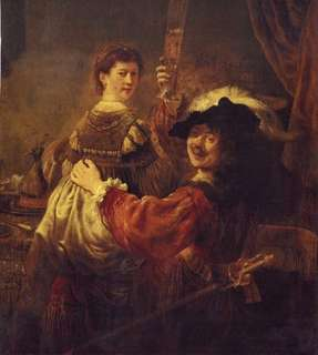 Rembrandt - The Prodigal Son in the Brothel