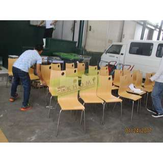 33pcs STC SERIES STACKABLE CHAIRS--KHOMI