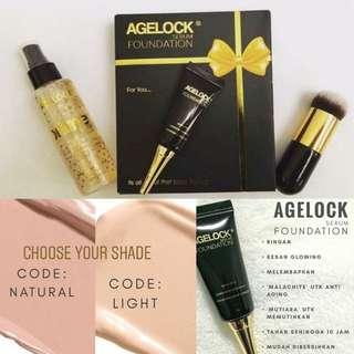 Agelock serum & Foundation