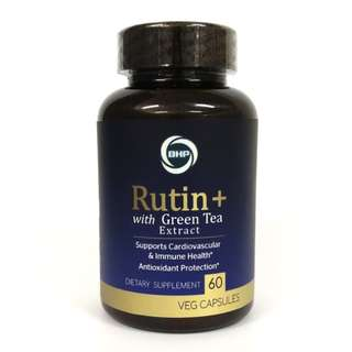 BHP, Rutin+ Green Tea Extract, 60 Veg Caps + Free Delivery (Diabetes/Cholesterol/Digestion)