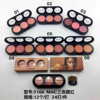 MAC blusher 3in1