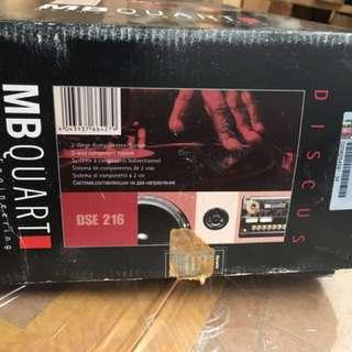 NOS MB Quart DSE216 speaker system