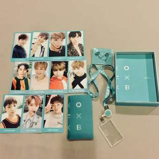 Wanna One Membership kit PHOTOCARDS