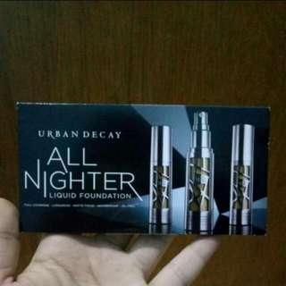 Urban decay all nighter foundation sample