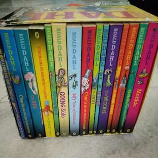Roald Dahl Childrens Collection - 15 Book Boxed