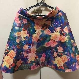 Floral Foam Skirt