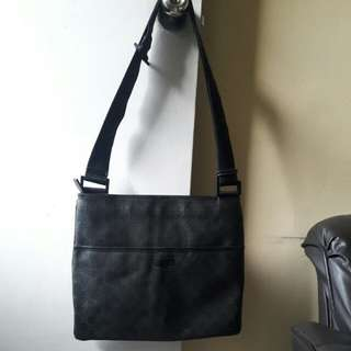 Auth Gucci sling bag for Men