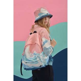[PO] Korean Style Canvas Backpack