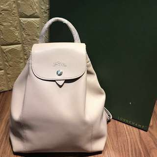 Brand new! Authentic Longchamp Backpack leather
