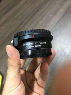 Meta bones speedbooster Ef-e mount ( Canon lens to Sony mount)