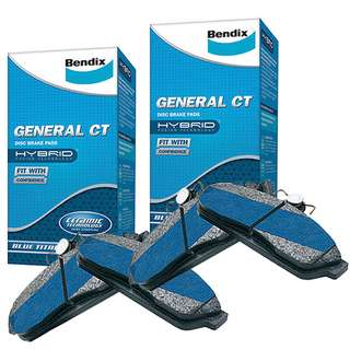 TOYOTA  CAMRY General CT Ceramic BRAKE PADS (Bendix)