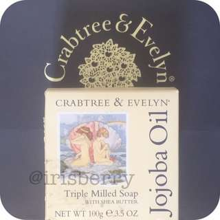 Crabtree Jojoba Oil Triple Milled Soap With Shea Butter