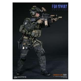 Dam Toys - 78044B - Elite Series - San Diego FBI SWAT - Team Agent Midnight Ops - 1/6 Collectible Action Figure
