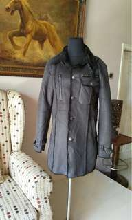 Dark Grey Coat Winter dark grey